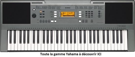 clavier Yamaha