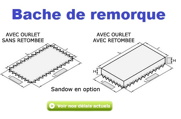 baches remorque